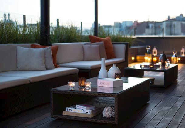 Rooftop Terrace Sitting Area