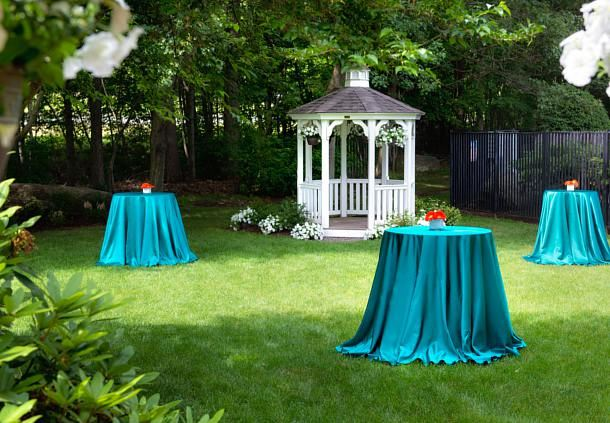 Outdoor Wedding Cocktail Reception
