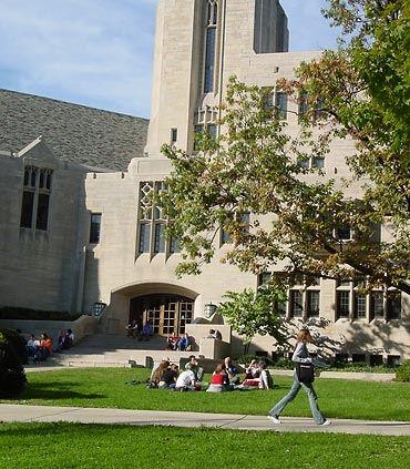 Indiana University Classroom