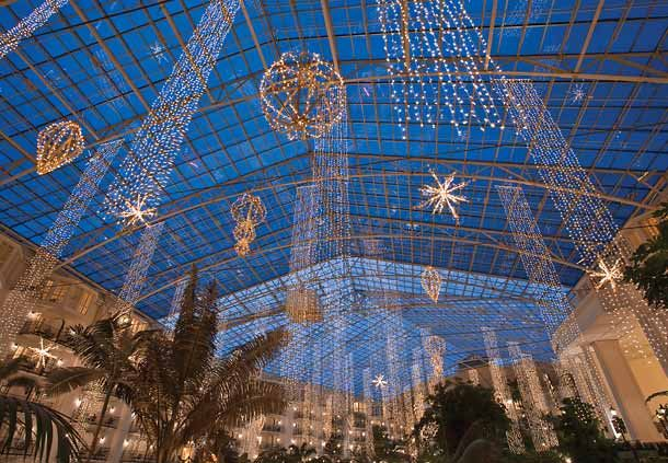 Opryland Atrium Hanging Lights