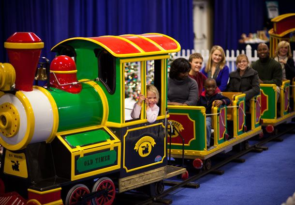 Opryland Express Kids Train