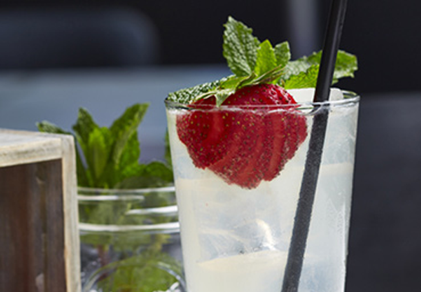 Wheatley's Strawberry Mint Lemonade