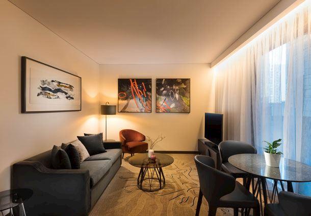 Westin Suite Living Area