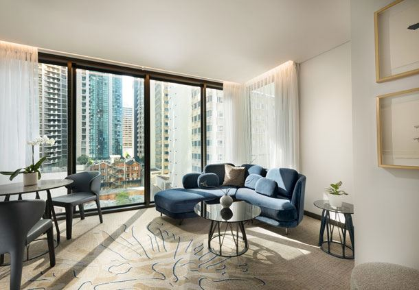 Renewal Suite Living Area