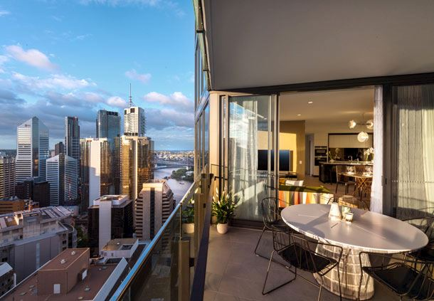 2-Bedroom Penthouse - Balcony