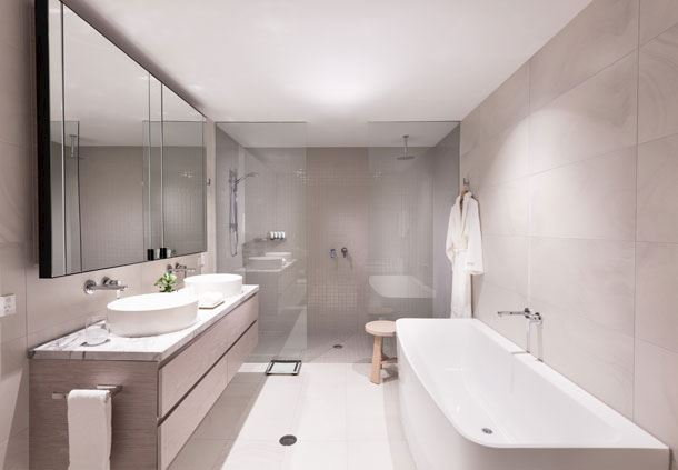 2-Bedroom Penthouse Bathroom