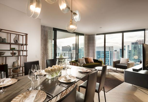 2-Bedroom Penthouse - Dining