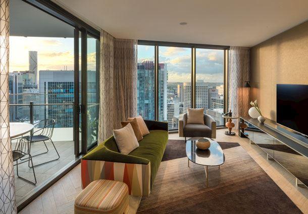 2-Bedroom Penthouse - Lounge Room