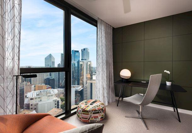2-Bedroom Penthouse - Study