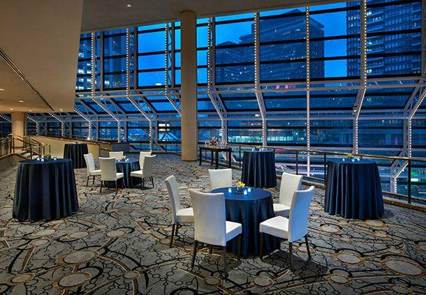 Atrium - Banquet Setup