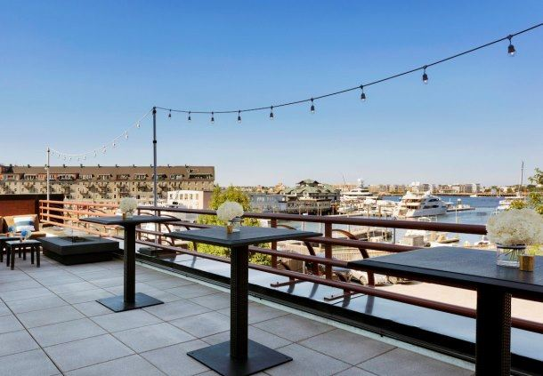 Harbor View Ballroom - Terrace