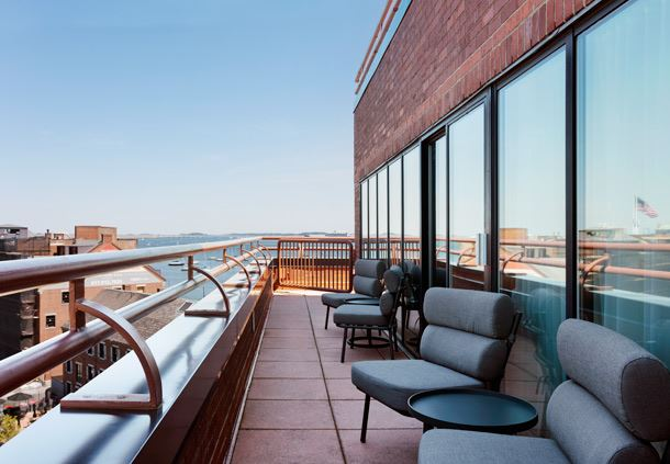 Luxury Waterfront Suite Balcony