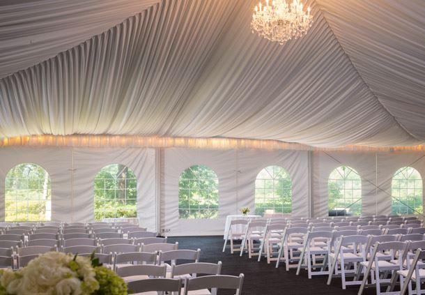 Pavillion Wedding Ceremony