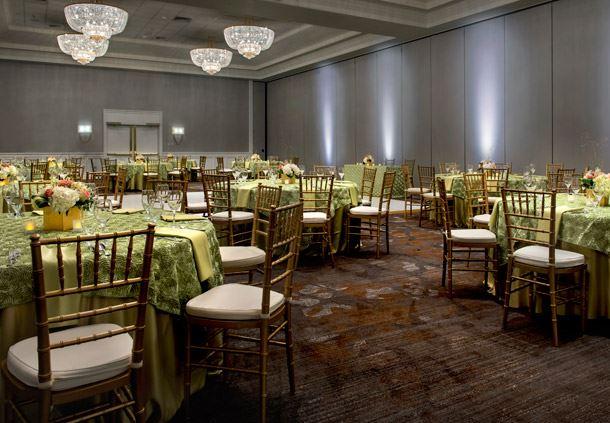 President's Ballroom - Wedding Setup