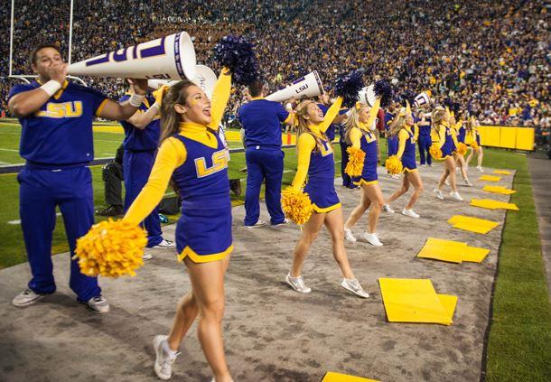 The University of Louisiana, Tiger Stadium