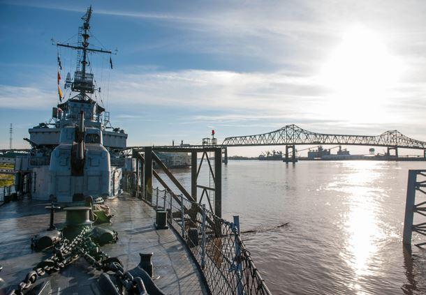 USS Kidd and Nautical Center