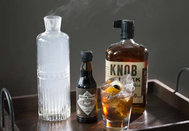 Panorama on Seven- Smoked Old Fashioned Drink