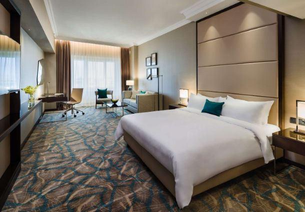 Grand Executive Room Sleeping Area