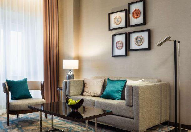 Grand Executive Room Living Area