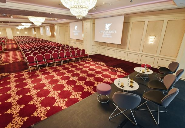 Grand Ballroom, Theatre Set Up