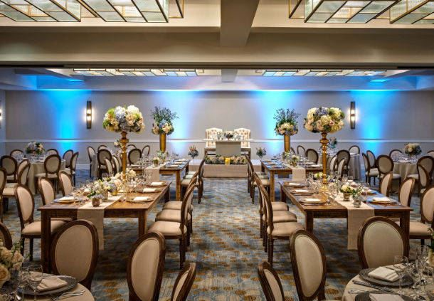 City Ballroom Wedding Reception