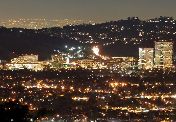 Burbank at Night