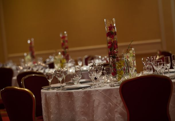 Grand Ballroom - Wedding Setup
