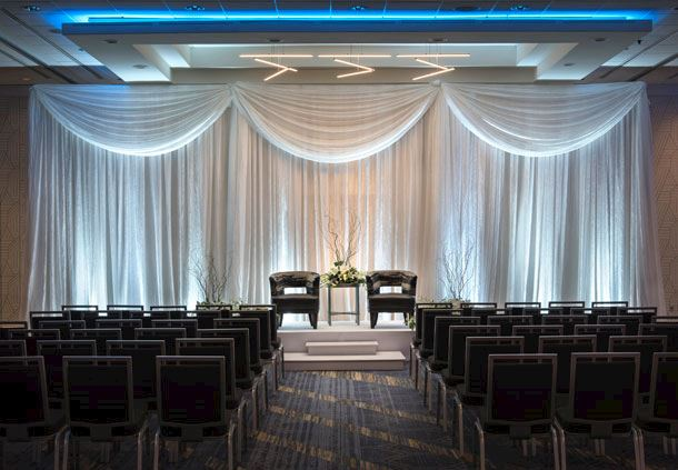 Grand Ballroom - Wedding Ceremony Setup