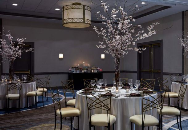 Grand Ballroom- Social Event Setting