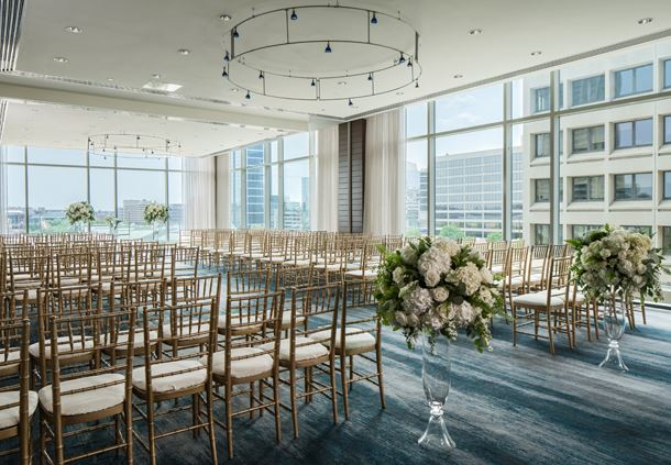 Watertable Ballroom - Wedding Ceremony