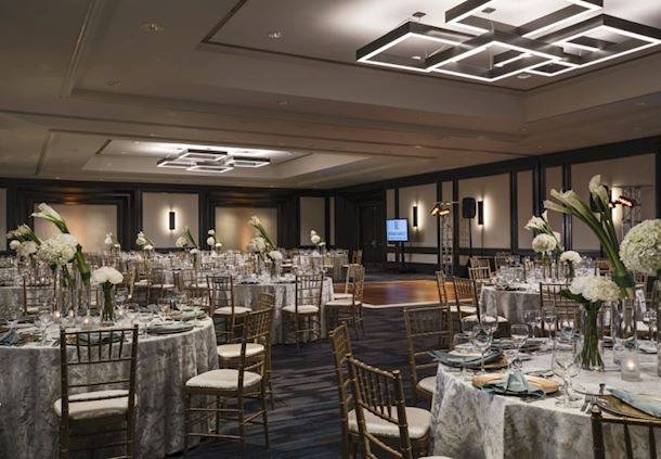 Maryland Ballroom - Wedding Reception Setup