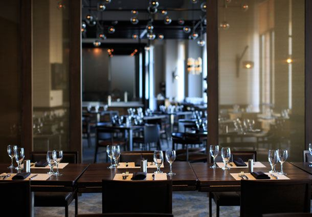 Apropoe's Private Dining Room