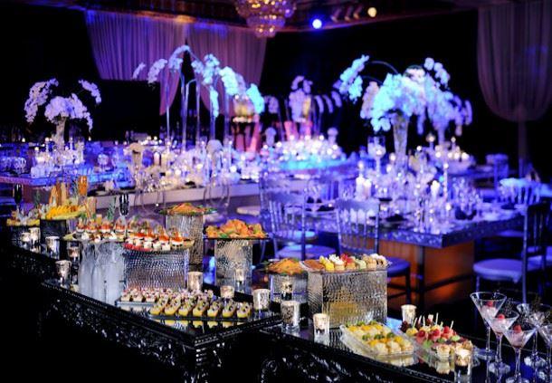 Aida Ballroom - Hors d'oeuvre Setup