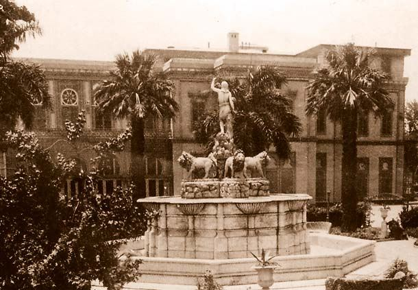 Historic Lion Fountain