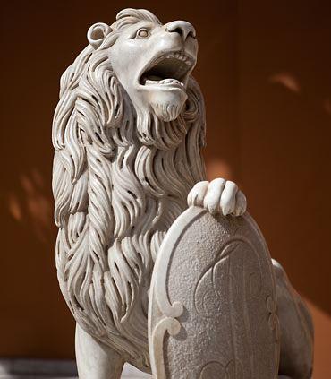 Historical Lion Statue