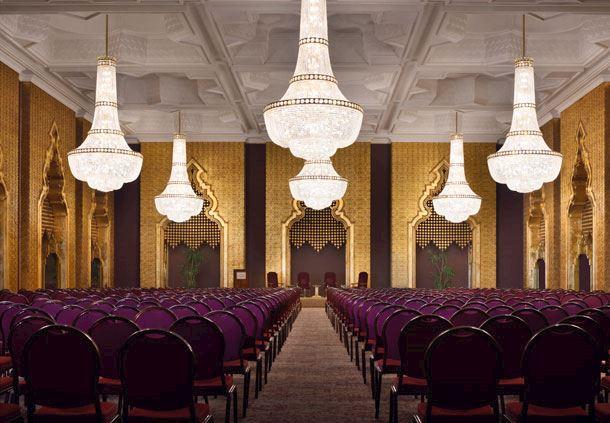 Al Khalifa Ballroom Theatre Style Set-up
