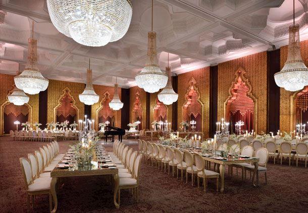 A Palatial Wedding Room