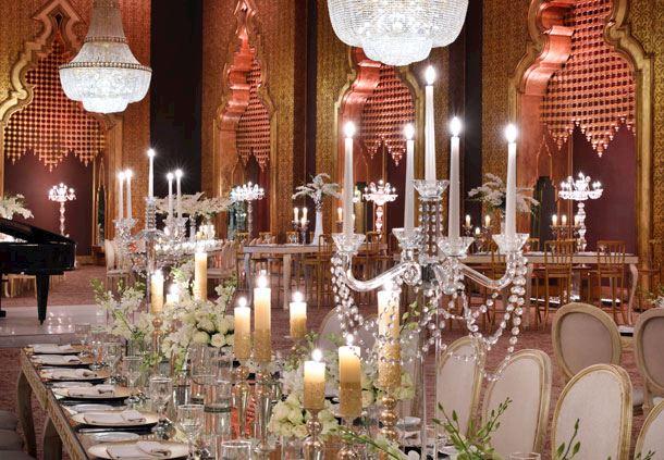 Dazzling Wedding Set-up