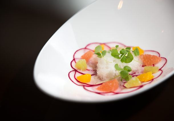 Scallop Snow Salad