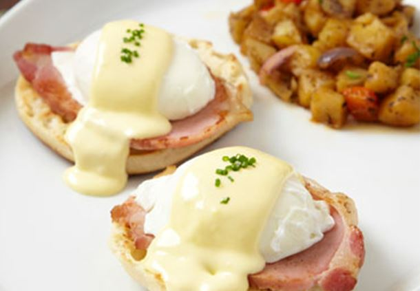 Harvest Breakfast - Eggs Benedict