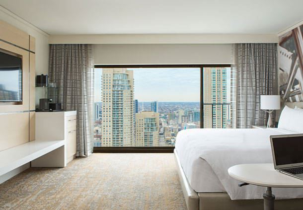 Deluxe City View King Guest Room
