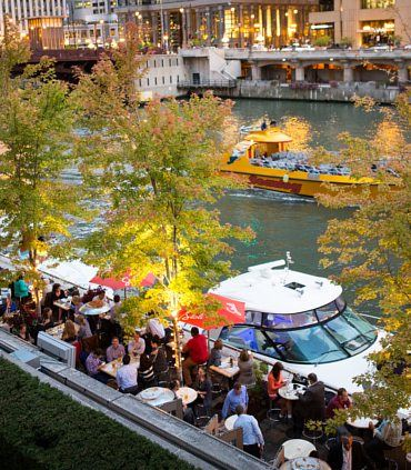 Chicago Riverfront Dining