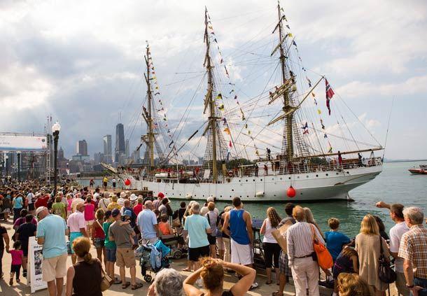 Navy Pier Tall Ships