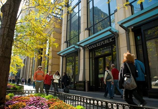 Shopping on Michigan Avenue