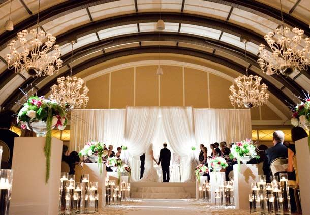 Burnham Ballroom Wedding Ceremony
