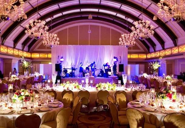 Burnham Ballroom Wedding Reception