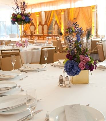 Grand Marquee Pavilion Table Setting