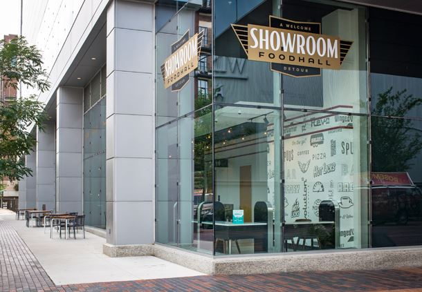 Showroom Food Hall Exterior