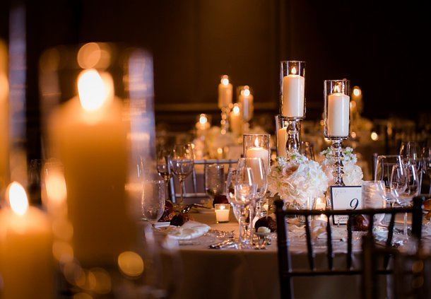 Elegant Wedding Dining