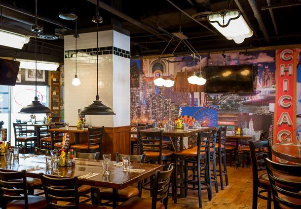 Bill's Bar & Burger - Dining Area Seating
